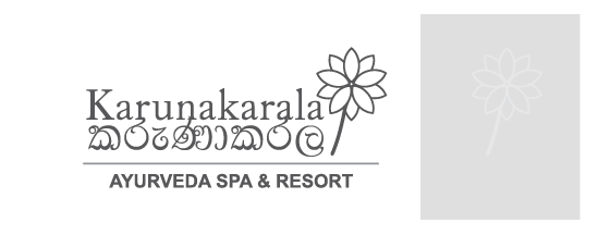 Karunakarala Ayurveda Resort logo outlined version